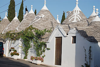 Some more trulli in Alberobello